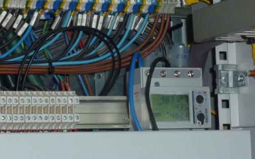 Analizador continuo de consumos rack servidores Edificio PRAE