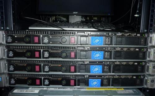 Nuevo grupo de servidores para virtualización - edificio PRAE