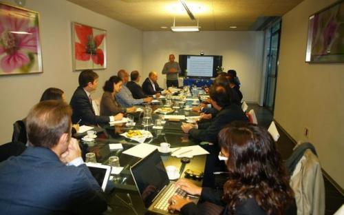Reunión de constitución del grupo de consulta en Castilla y León