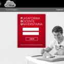 Plataforma de formacion Universitaria Screenshot San Valero