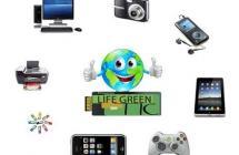 Portada de la guía de Buenas Prácticas GREEN TIC